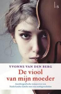 COVER BOEK 'DE VIOOL VAN MIJN MOEDER' 2013