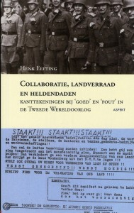 BOEK COVER COLL, LANDVERRAAD EN HELDENDADEN